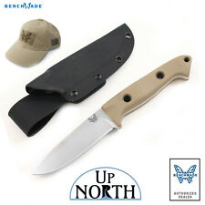 BENCHMADE KNIFE 162-1 BUSHCRAFTER EOD SIBERT FIXED Blade FREE HAT