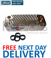 Ideal Evo C22/30 (GC No. 47-348-33) DHW Plate Heat Exchanger 170995 Genuine NEW