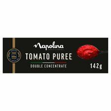 3 x Napolina Delicious Tomato Puree Tube 142G  complete in original box