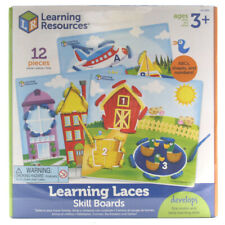 Learning Resources Learning Laces Skill Boards Educational Toy