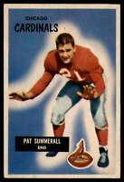 1955 Bowman #52 Pat Summerall EX/NM (RC - Rookie Card)
