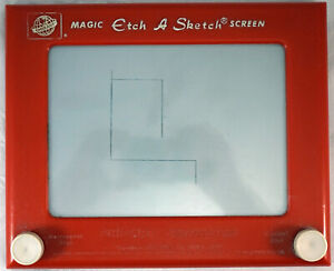"""Vintage Etch A Sketch """"Another Creation by OHIO ART""""No. 505 c1960-1962 Works #2"""