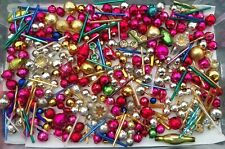 � Vintage Loose Mercury Glass Christmas Garland Beads Japan Icicle Ornaments