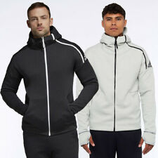 Mens Adidas ZNE Fast Release Hooded Top - 2 Colours - (TGA45) RRP £79.99