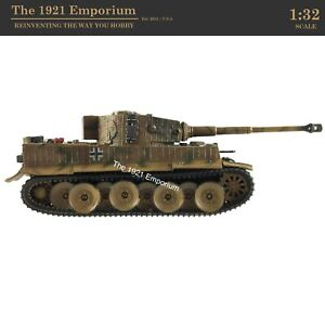 ✙ 1:32 Diecast Unimax Toys Forces of Valor WWII German Army Panzer VI Tiger Tank