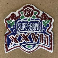 "1993 SUPER BOWL XXVII NFL FOOTBALL DALLAS COWBOYS VS BUFFALO BILLS 2"" PATCH"