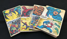The Art of Vintage Marvel Notebook Set - 4 pcs. : Spiderman / Cap / X-Men / F4