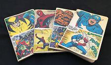 The Art of Vintage Marvel Notebook Set - 4 pcs. : Spiderman / Cap / X-Men / F4