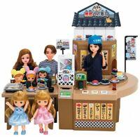 Takara Tomy Licca Doll Conveyor Belt Sushi Shop Muten Kura-sushi Fast Shipping