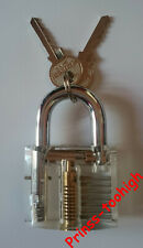 BIG Padlock lockpicking locksmith lock picking practice lockpick tools cadenas !