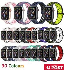 Silicone Nike Sport Strap For Apple Watch iWatch Band 3840/42/44mm Series 654321