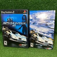 SpyHunter 2 (Sony PlayStation 2, 2003) PS2 Black Label Complete Video Game