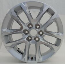 "2018 18"" CHEVROLET TRAVERSE Factory OEM Rim Wheel 5843 Silver Machined"