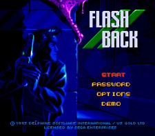 Flashback The Quest For Identity - Sega Genesis Game Only