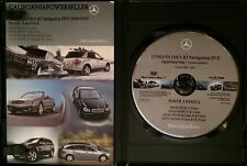 2007 2008 MERCEDES GL320 ML320 ML350 ML63 MCSII AMG NAVIGATION MAP CD DVD