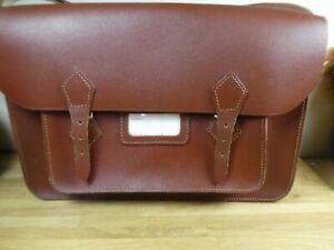 Vintage Chossy Carry Bag / Satchel Real Leather