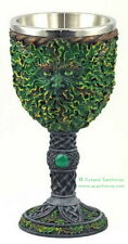 GREENMAN CHALICE GREEN MAN Wicca Pagan Witch Goth Ritual Spell Altar