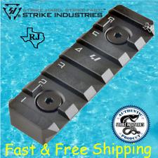 Strike Industries LINK 6-Slot Picatinny Rail Section fit KeyMod & M-LOK Black