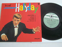 LP 33 T VINYLE 25 CM , JOHNNY HALLYDAY RETIENS LA NUIT , COMME NEUF .
