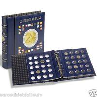 Classeur, Album numismatique pour 2 euros + étui - LEUCHTTURM