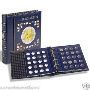 Archivador, álbum numismática para 2 euros + estuche - LEUCHTTURM - Enviado
