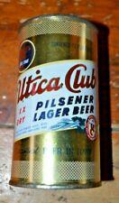 Utica Club Pilsener Lager Beer 12 oz Flat Top Beer Can Nice Condtion
