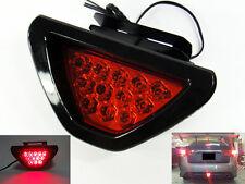 F1 style Third Red Flashing Blinker 12 LED Tail Brake Stop Light Safety Fog Lamp