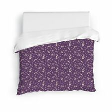 Nwt New Neppur King Duvet Cover by August Grove Purple & White