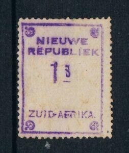 New Republic 1887 - 1sh Violet - on Yellow Paper - SC 47 [SG 83] MINT T9