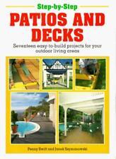 Step-by-step Patios and Decks (Step-by-step DIY series),Penny Swift