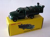 Studebaker benne à ordures - prototype - ref 25 VS de dinky toys atlas