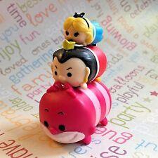 Disney Tsum Tsum Stack Vinyl Alice SMALL Queen MEDIUM Cheshire LARGE Figures