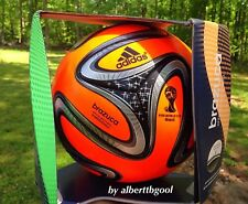 New Adidas 2014 Brazuca Power orange Official Match Ball No Teamgeist Jabulani