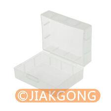 White Hard Plastic Case Holder Storage Box for Battery NP-FW50 NP-FV50