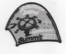 2013 National Jamboree Promo Tent Patch Series, Brownsea Island, Mint!