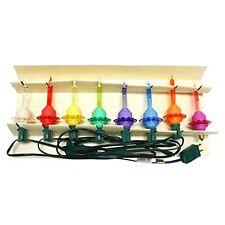 Radko Shiny Brite Bubble-Lite Bubble Light, Light Strand, Set of 7 New In Box