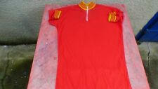 Bike Jersey Red And Yellow T 5 Vintage Style Champion D' Spain