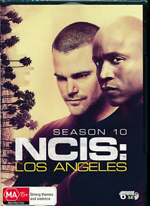 NCIS Los Angeles Season 10 Tenth DVD NEW Region 4