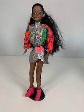 Rare Vintage Sindy Doll Imani Popstar Hasbro Black African American Retro 1996