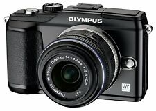 New Olympus Pen E-PL2 + 14-42mm Digital Camera Kit *Official UK Retailer* Black