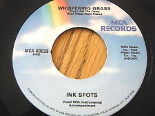 INK SPOTS - WHISPERING GRASS / IF I DIDN'T CARE