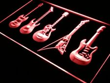 s091-r Guitars Weapon Band Bar Beer Neon Light Sign