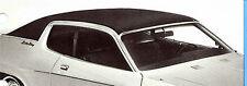 "73 74 Dodge Charger Plymouth Road Runner Satellite ""Halo"" BLACK Vinyl Top/Mopar"