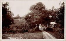 Merton, North Devon near Dolton. Gate & House.