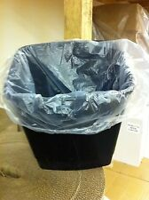 White Square Office Bin Liners 15x24x24 x 1000