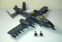 1984 GI Joe Cobra Rattler Attack Jet Set Rebuild Repair Lot *Near Complete