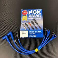 Mazda RX-8 NGK Spark Plug Wire Set 2004-2008 NGK-4858 Rotary Engine 13B