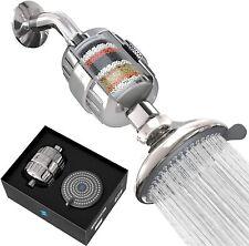 Sparkpod Filtered Shower Head Filters Chlorine & Fluoride High Pressure