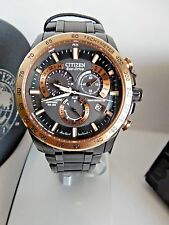DISPLAY MODEL CITIZEN ECO DRIVE MEN'S RADIO CONTROL A-T CHRONO. WATCH AT4108-57E