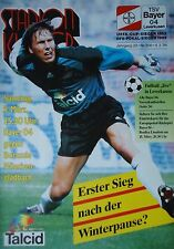 Programm 1993/94 Bayer 04 Leverkusen - Mönchengladbach